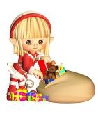 Cartoon elf from publicdomainpicturesdotnet