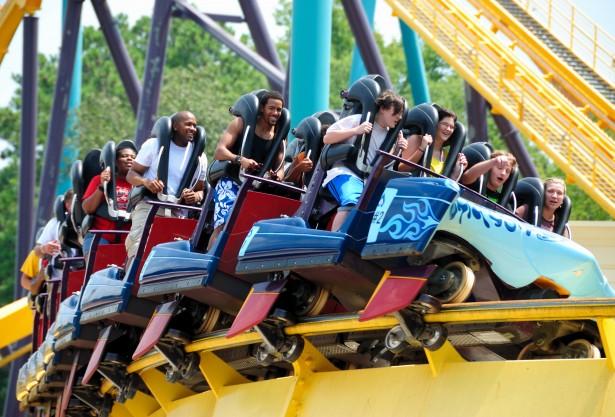 people-on-roller-coaster from publicdomainpicturesdotnet
