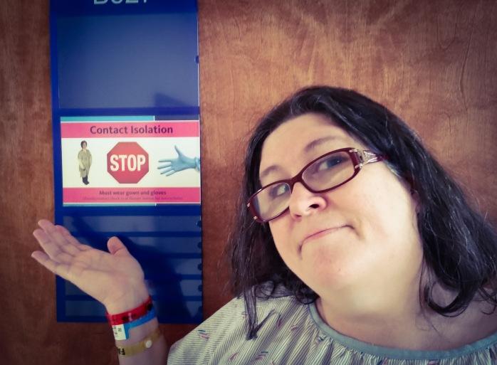 Kathy at hospital Sep 2018